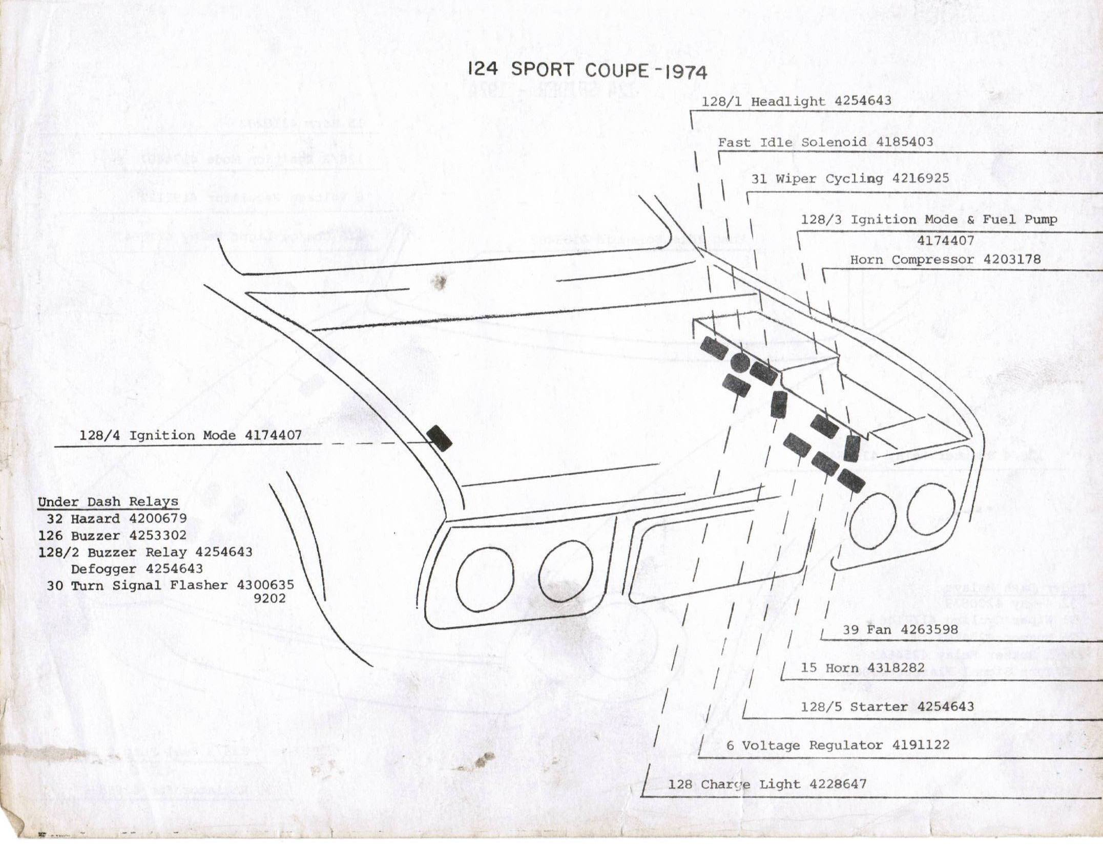 Index Of Wcm Personal Fiat 124 Coupe Wiring Diagram 74 Sport Cp Relays